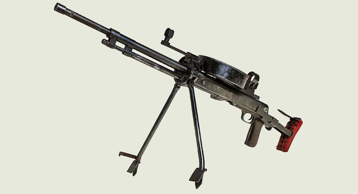 7,62 mm tankový kulomet vzor 1929 (DT-29) : USSR / Russia (SOV/RUS)