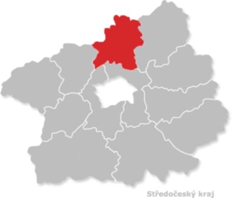 Okres Melnik Okresy