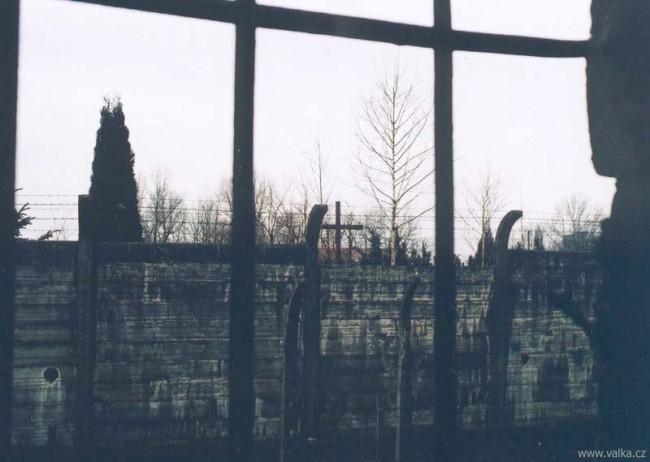 Z okna baráku v Osvětimi nebylo na koukat. Opravdu ne.