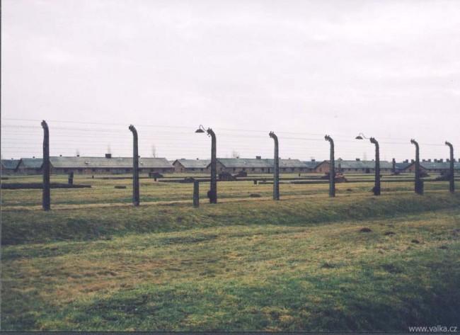 Osvětim II. Březinka - tábor