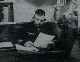 obr.1 Kurt Caesar Hofmann - kapitán bitevního křižníku Scharnhorst