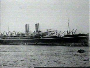 obr.2 Ozbrojená obchodní loď Rawalpindi