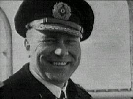 obr.14 Fritz Hinse - kapitána Scharnhorstu od prosince 1943