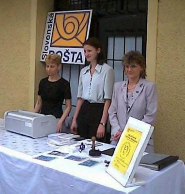 Príležitostné priehradkové pracovisko dňa 24. - 25. 5. 2002 zabezpečila pošta Žilina 1 zo Strediska poštovej prevádzky Žilina priamo   v priestoroch prebiehajúcich osláv výročí Jozefa Gabčíka, kpt. In memoriam.