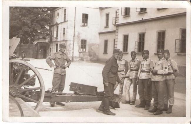 Výsvik spojovací baterie DP 11, 1936/1937