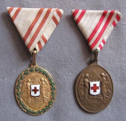 Bronzové medaile Miniatúra dôstojníckeho kríža - reverzfoto: Ivan  Chudý