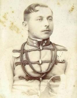 Nositeľ jubilejného kríža  [foto: zbierka autora]
