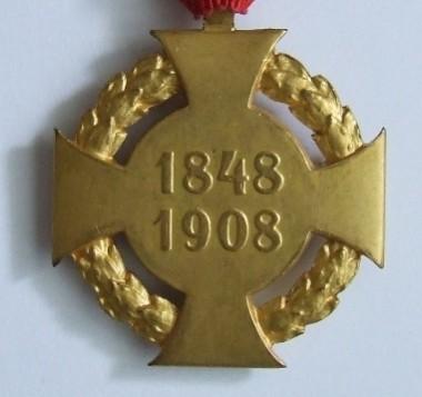 Jubilejný kríž - rubová strana  [foto: zbierka autora]