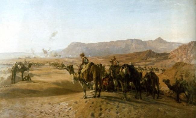 Camel Brigade pri Magdhabe