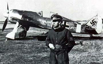 Začiatkom roka dostala 3./ Escuadrilla Azul prvé Focke Wullfy Fw-190