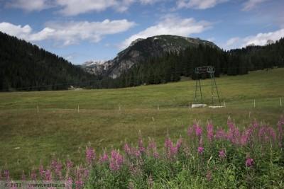 obr. 1 - Monte Piano – pohled z jihu