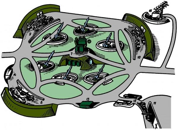 Předpisová bojová sestava PLRK S-75
