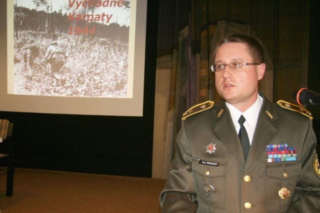 podplukovník PhDr. Peter Šumichrast, PhD. [foto: Jozef Žiak]