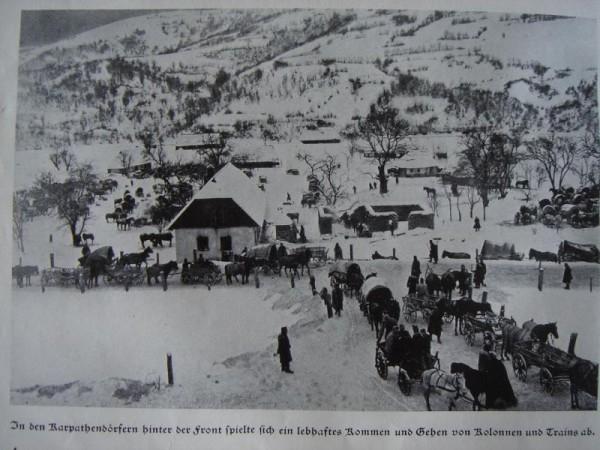Rakusko-uhorska zasobovacia kolona v Karpatoch 1914-1915
