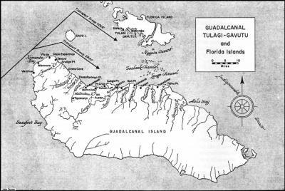 Ostrovy Tulagi a Guadalcanal