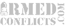 site logo black and white armedconflicts.com